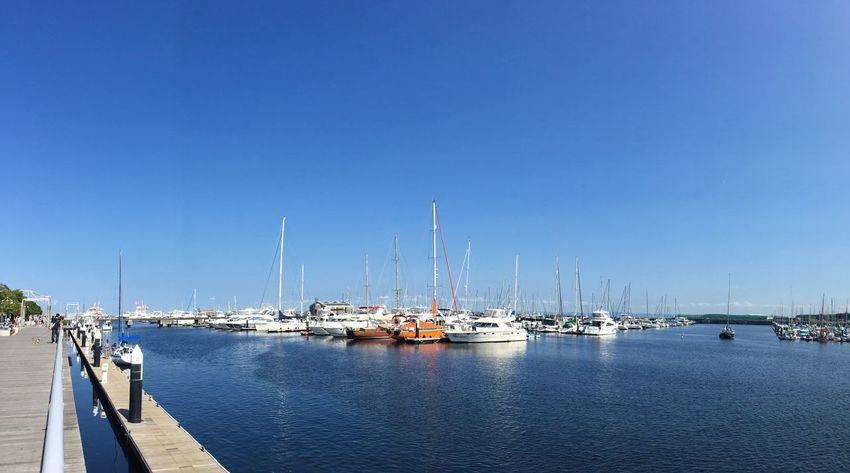Blue Sky Sky Sea And Sky Sky_collection Sea Seaside Ship Goodday