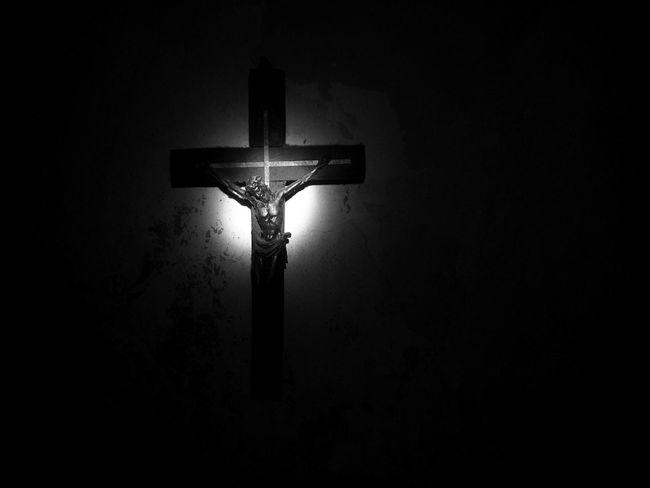 Creepy soft. Crucifix Religion Spirituality Cross No People Statue
