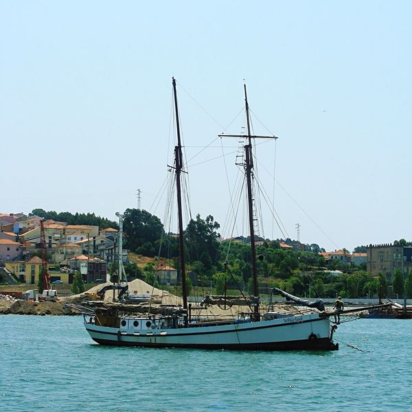 Portugal Porto Transportation Wineship River View River Sailboat Boat People Fine Art Photography Fine Art EyeEm Gallery Summertime Food And Drink Portwine Old But Awesome Sail Away, Sail Away Travel Photography Taking You On My Journey 😎 On The Way
