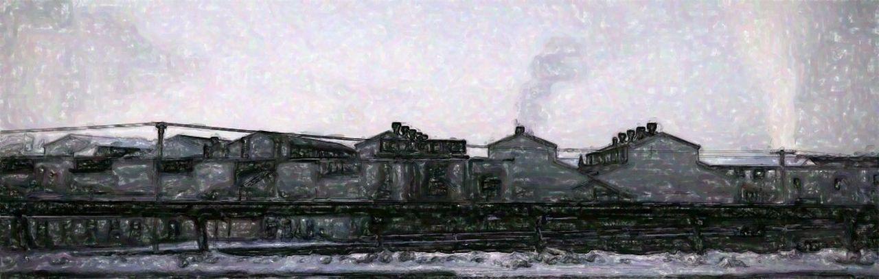 Factory NEM Painterly Expressionism Blackandwhite Obsessive Edits Shades Of Grey