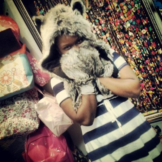Me Taking Random Pictures  Cute Wolfhat #imthatawesome