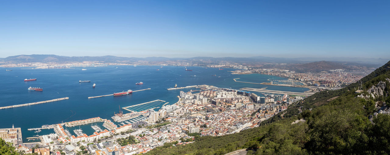A panoramic shot of Gibraltar... Beautiful Landscape Beautiful Landscapes City Cityscape Famous Places Gibraltar Gibraltar Landscape Gibraltar Panorama Gibraltar Rock Gibraltar Views Harbor Landscape Landscapes Pano Panorama Panoramic Panoramic Photography Rock Of Gibraltar Sea Stunning Landscape Stunning Landscapes Travel Travel Destination Travel Destinations Travel Photography