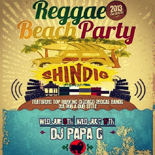 Reggae Beach Party Today w/Dj Papa G and Akasha at Montrose Beach 5-10pm Chicago Montrosebeach Reggaebeachparty Irievibes onelove djpapag archangelsoundsystem innarubadubstylee summasummasumatime