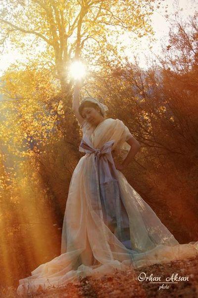 """""""belemedikde son bahar perisi"""" model nida Çoşkun kostüm serkan sarıkef fotograf orhan aksan"""