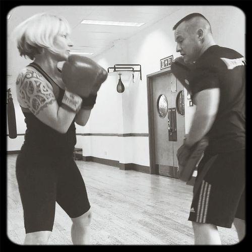 PT Training Boxercise Womanboxing