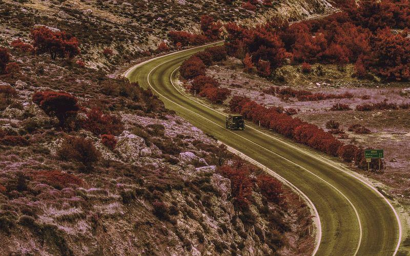 Suv On Road