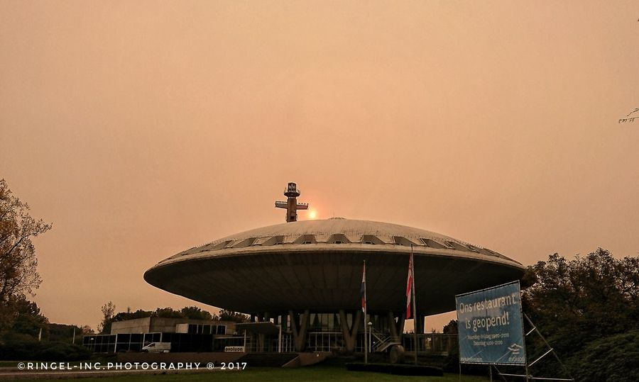 Strange colour in the sky . Amusement Park Built Structure Outdoors Travel Destinations Sky Architecture Day No People Politics And Government XperiaXZ1 Hello World Fooling Around ^_^ Photography Landscape