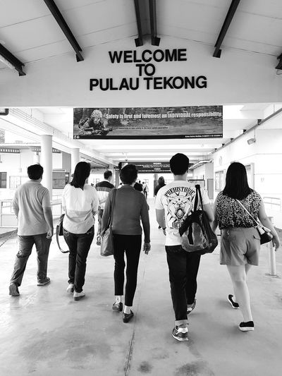 An Island Called Tekong Tekong Pulau Tekong Basic Military Training Enlistment Day National Service Singapore Army 50 Years Of National Service Streetphotography Sg_streetphotography BnwstreetphotographyBnwsingapore Bnwphotography Singapore