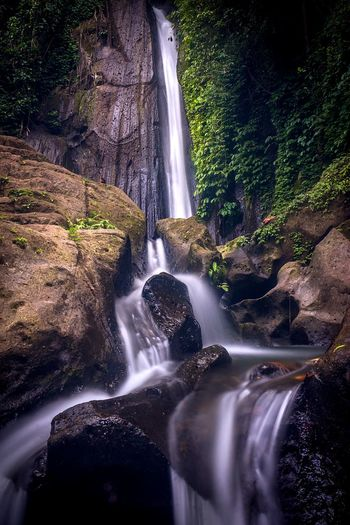 kuning waterfall INDONESIA Bali, Indonesia Baliphotography Balinese Indonesia_photography Nature Water Slowspeed Long Exposure Water Waterfall Motion Long Exposure Rock - Object Flowing Water Power In Nature