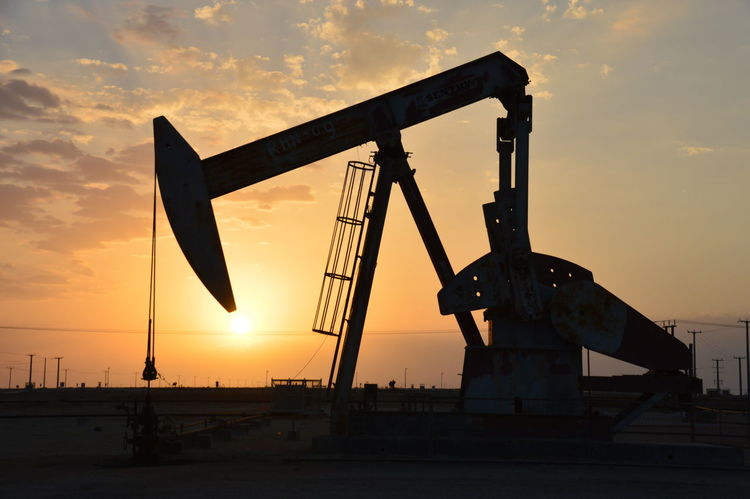 BP Oil&gas Fields Industry Sunset Silhouette Metal Outdoors Oil Pump No People Industrial Equipment Sky Day