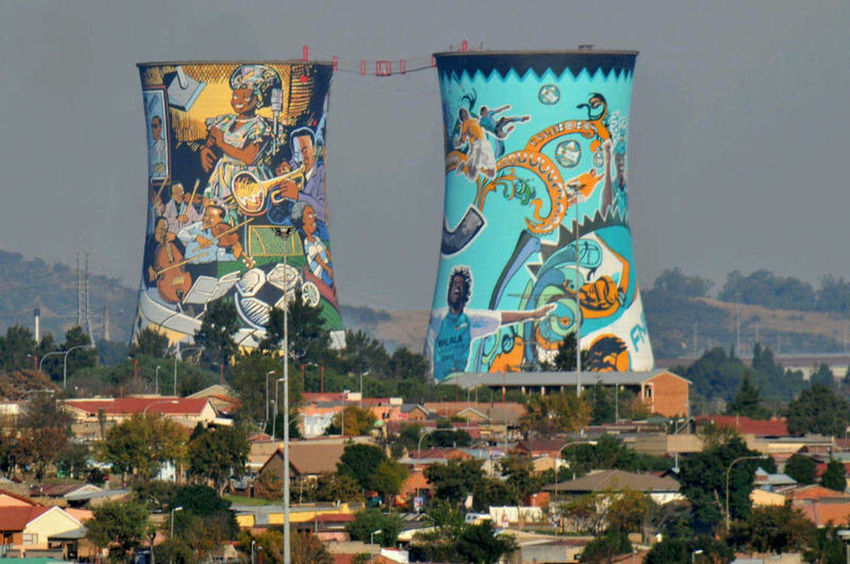 Orlando Towers Soweto Towers Ghetto My City