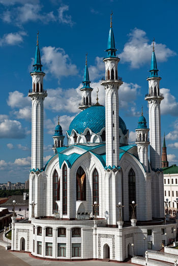 Architecture Building Exterior City Cloud - Sky Façade Kazan Kul Sharif No People