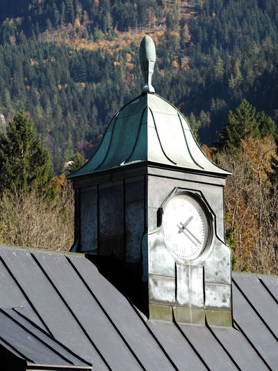Architecture Built Structure Clock Close-up Day Mountain Nature No People Outdoors Time Tree