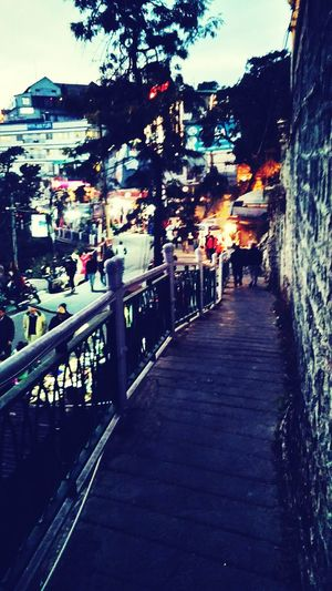 Mussoorie Diaries way dow to mall road Church Street Ranaji's Palace mood for a cup of tea Shiveringly Cold Pastel Power