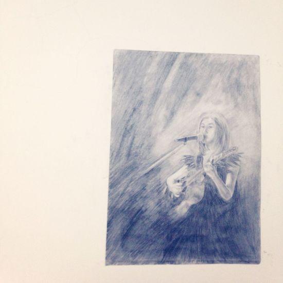 Ann Drawing Sketch