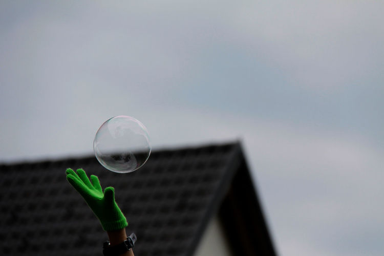 Bubbles Fragility Fun Outdoors Sky Sphere Telling Stories Differently Original Experiences Visual Creativity