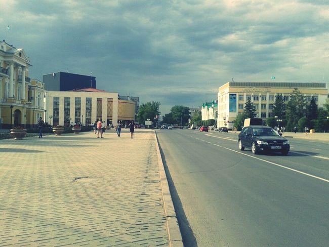 City Streed Uralsk
