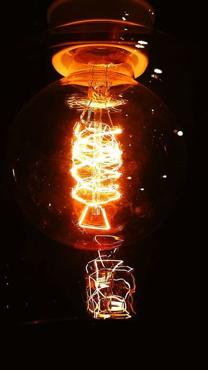 My Year My View Light Bulb Electricity  Night