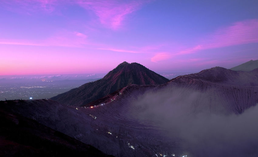Morning vibes ijen crater