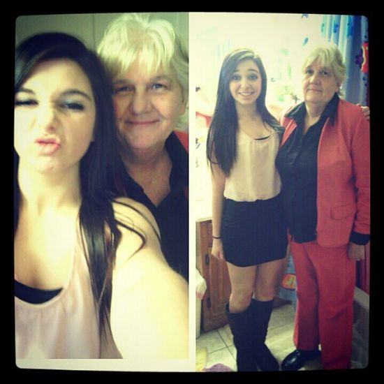 I would be nothing without my gramcracka. Lovehertodeath Cheerdinner Classy Instalike