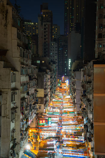 the amazing tmeple street market during the night, hongkong ASIA Hong Kong Hong Kong City Hong Kong Building HongKong Hongkong Photos Market Architecture Asien Building Exterior Built Structure City Cityscape Colorful Illuminated Long Exposure Night Night Market No People Outdoors Street Temple Street Travel Destinations