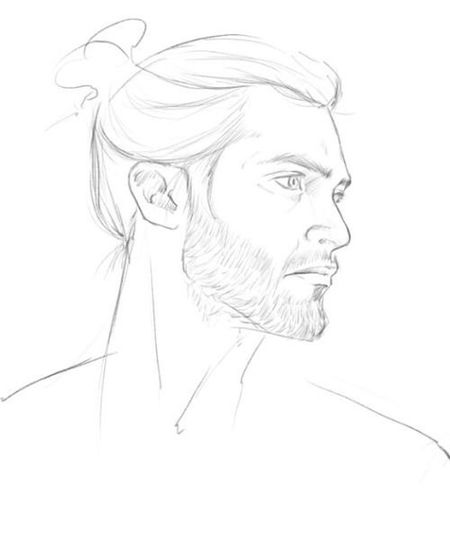 Drawing #hazemgarip Portrait