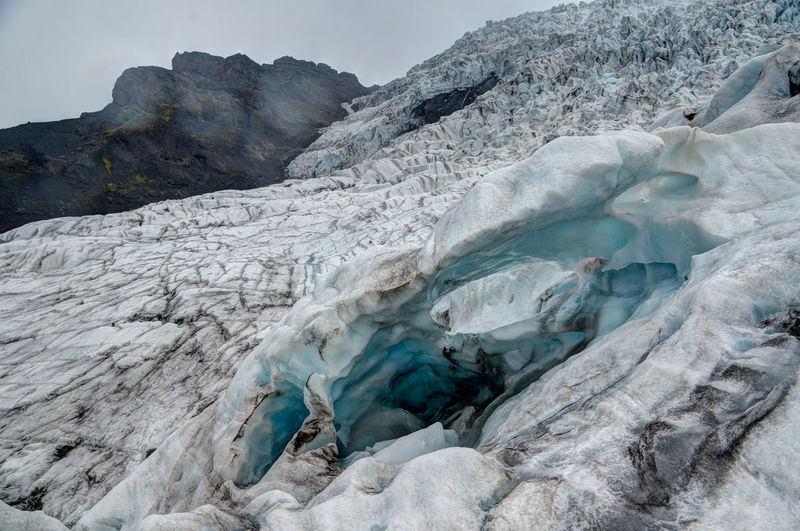 Iceland Iceland Memories Beauty In Nature Cold Temperature Day Glacial Glacier Ice Iceland Trip Iceland_collection Nature No People Outdoors Skaftafell Snow
