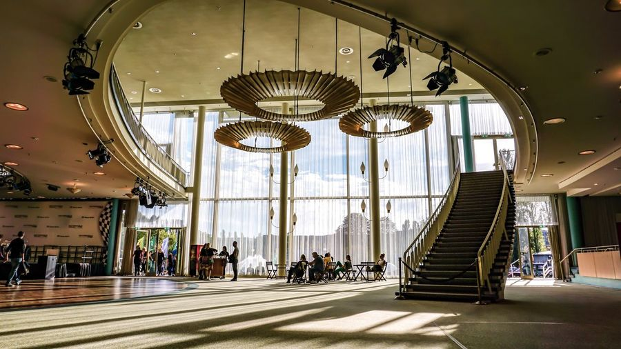 Berlin Photography Berliner Ansichten Berlin Indoors  Architecture Built Structure Incidental People Sunlight Day Decoration Lighting Equipment Ceiling Hanging Arts Culture And Entertainment Window Nature Shopping Mall Flooring Luxury Entrance Pattern