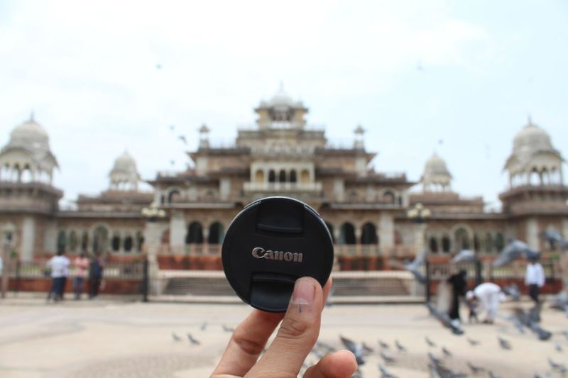 travelling alone?....No, i have my companion with me Jaipur Albert Hall Museum Pink City Architecture Streetphotography Canon Canon700D Politics And Government Government Politics Holding Close-up Building Exterior Palace Royalty Historic