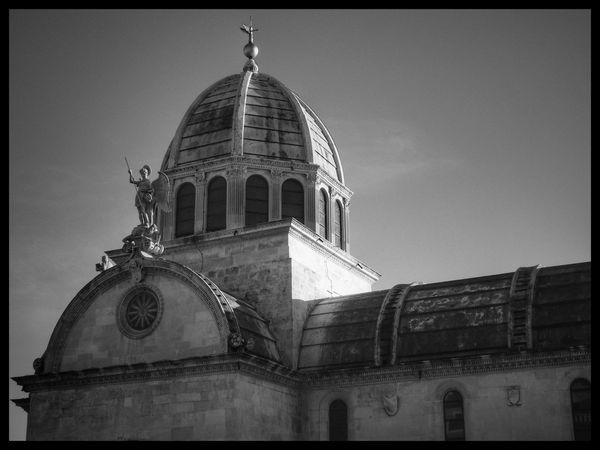 Šibenik Cathedral, Croatia. Architecture Dome Travel Destinations Outdoors No People City Croatiafulloflife Photography Croatia_photography Fotografia Viaggio Ontheroad