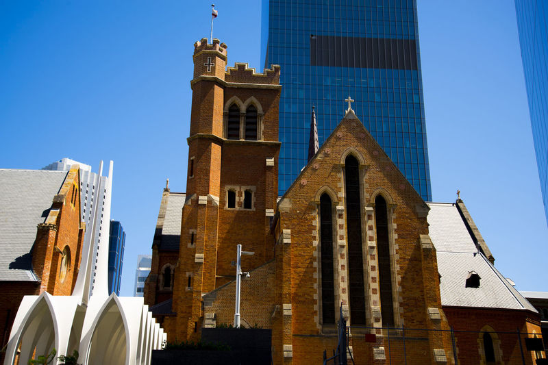 St Georges Cathedral Australia Western Australia Perth City CBD St Georges Cathedral Church Saint Georges