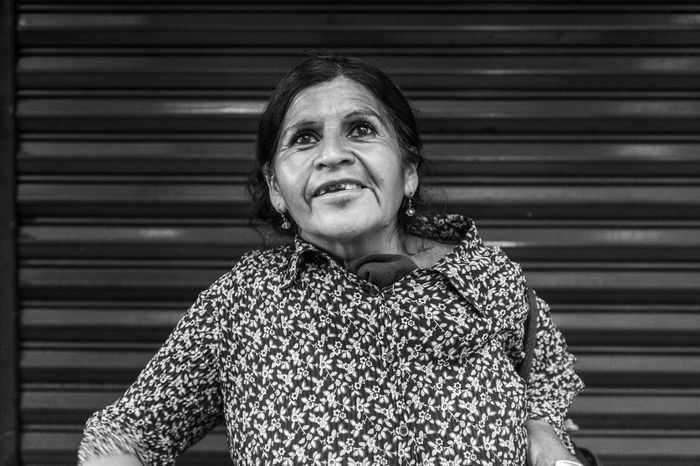 A street portrait of a Mexican Woman EyeEm Best Shots EyeEm Selects Mexico Mexico City Portrait Of A Woman PortraitPhotography Portraits WeekOnEyeEm Woman Blackandwhite Photography Fuji Fujifilm Headshot Mexican One Person Portrait portrait of a friend Portrait Photography Real People Senior Adult Smiling Week On Eyeem Woman Portrait Women women around the world