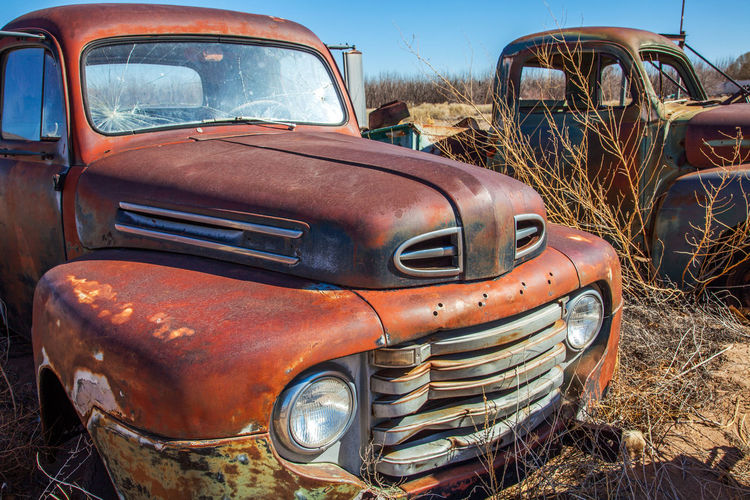 Old Cars in the