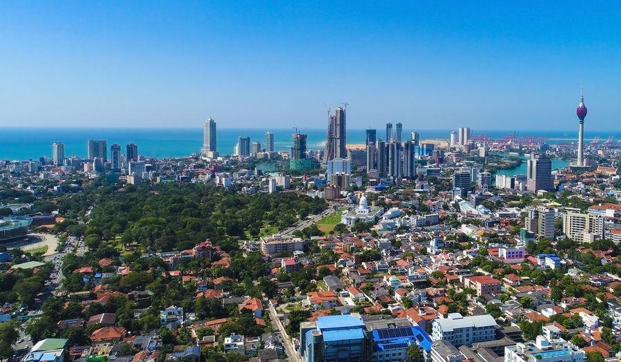 Colombo city skyline