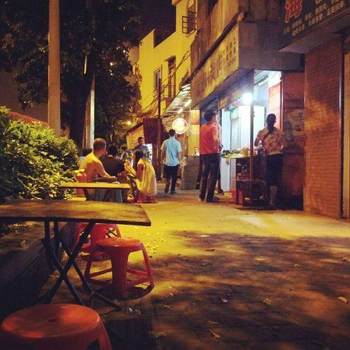 夜广州。广州 Guangzhou 客村 性感中路 宵夜 夜宵