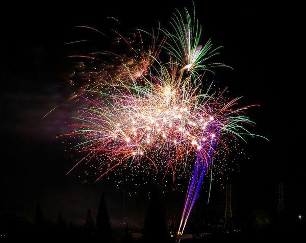 Fireworks Independence Day Nightsky Nightphotography USA 4th Of July July4th Fourthofjuly
