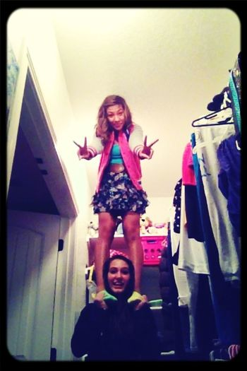 Stunting With Mary In My Closet Like Always :)