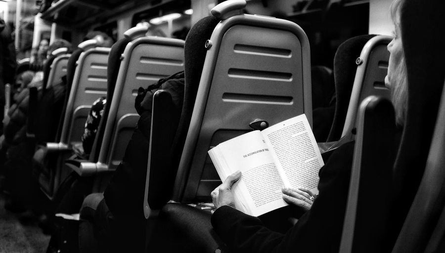 People Black And White Bnwphotography Travel Train Journey Sitting