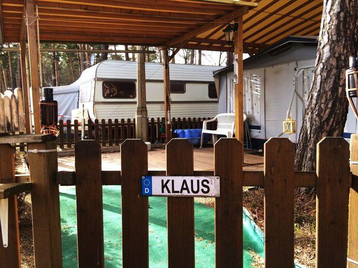 Klaus war nicht Zuhaus Campingplatz Camping Klaus
