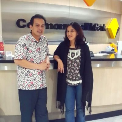 Me & colleague... Me Narsis Friend Colleague office myoffice commonwealth commbank