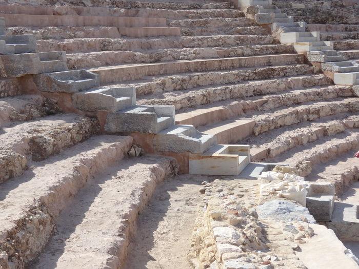 Amphitheatre Concentric Day Nature No People Outdoors Roman Salt Basin