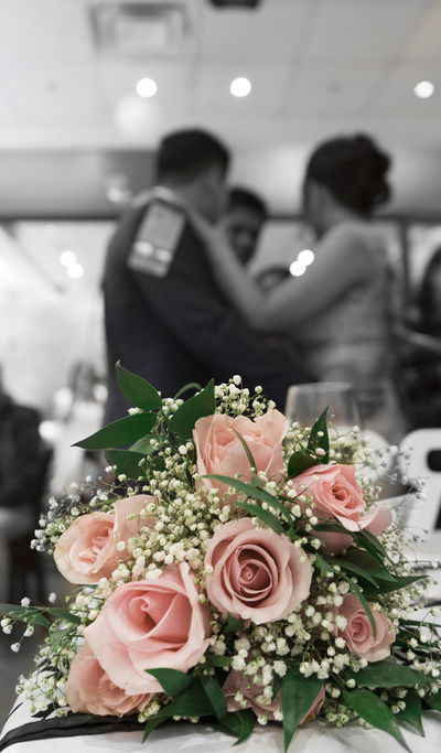 EyeEm Best Shots EyeEmNewHere Adult Bouquet Bride Bridegroom Celebration Couple - Relationship Event First Eyeem Photo Flower Flower Arrangement Flowering Plant Life Events Love Married Men Newlywed Positive Emotion Real People Rosé Rose - Flower Wedding Wedding Ceremony Women