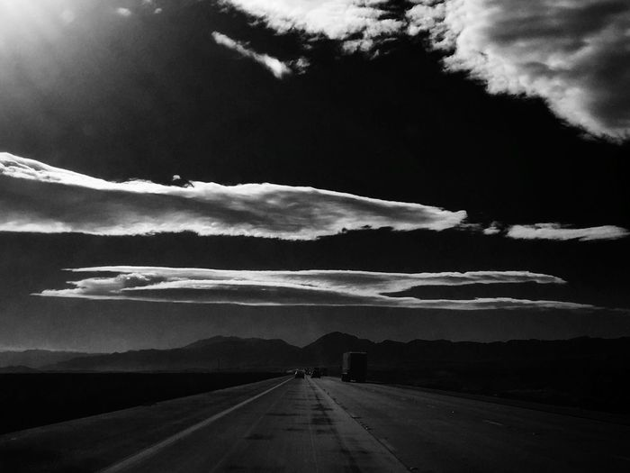 """""""You have to find what sparks a light in you so that you in your own way can illuminate the world."""" Taking Photos Travel Destinations On The Road Desert Road Transportation The Way Forward Sky No People Outdoors Cloud - Sky"""