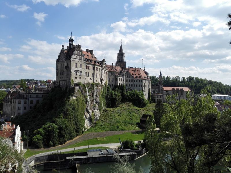 Schloss Sigmaringen Architecture Sky Cloud - Sky Building Exterior Built Structure History Tree Castle Outdoors No People