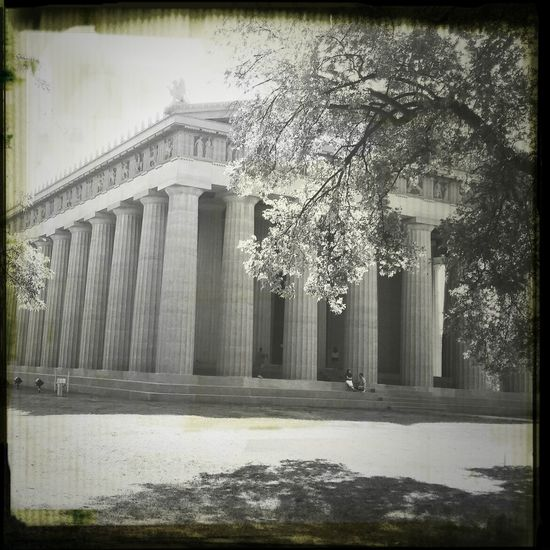 Black And White 615 Enjoying The Sun Parthenon #Nashville