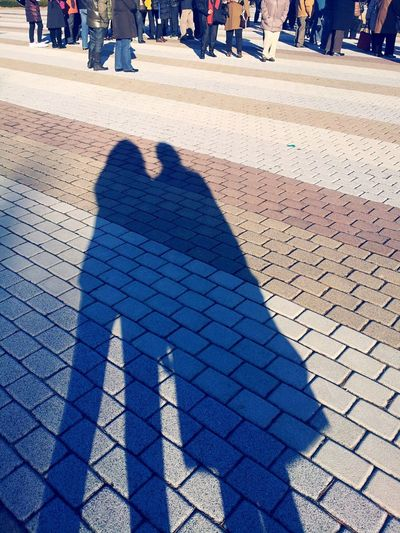 Backgrounds Shadow Couple Shadow Winter Ground Hidden Gems  Travel Tourist Group Of People People (null) Asian  Tourism Traveling Screen (null) Texture Background Two Is Better Than One People And Places Light And Reflection