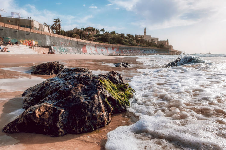 Jaffa Port Cityscape Jaffa Telling Stories Differently Travel Architecture Beach Blue Dengler Israel Landscape Matthias Motion Outdoors Portrait Power In Nature Seascape Sky Snapshopped Stone Sunset Travel Destinations Water Wave