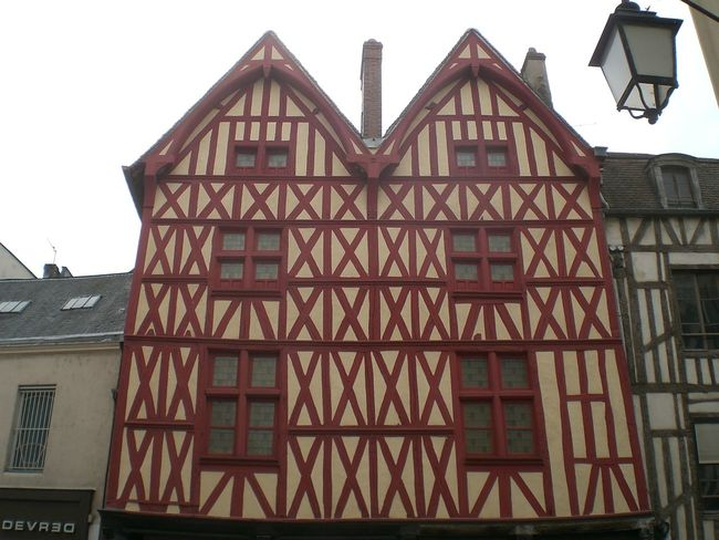 Architecture Building Exterior Built Structure City Day Low Angle View No People Outdoors Sky Timbered House