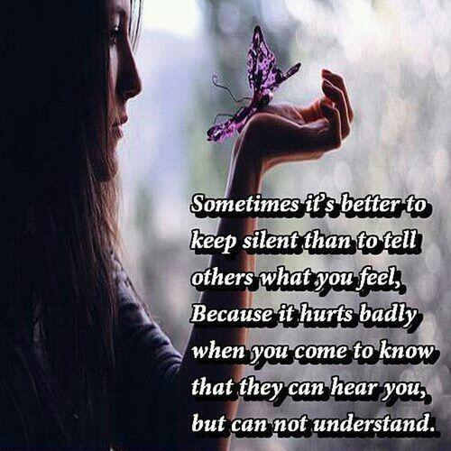 Keep It To Ur Self