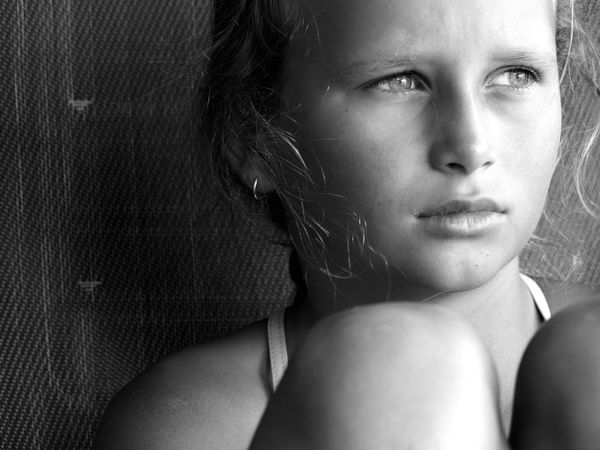 Penny for your thoughts Girl Portrait Headshot Young Adult One Person Real People Human Face